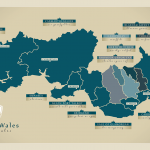 A map of South Wales - Mark King Properties