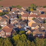 Ariel vie of South Wales Housing Estate
