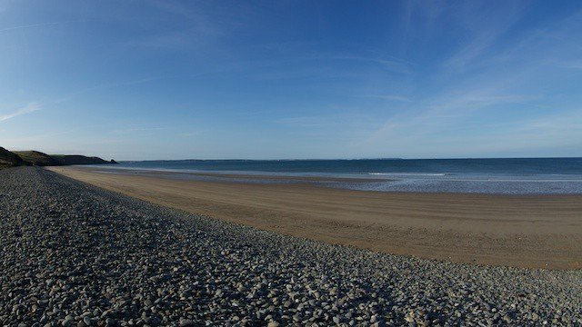 A beach In South Wales UK