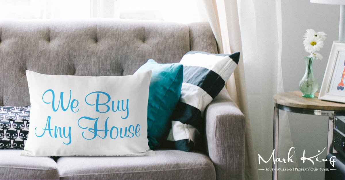 Mark King Properties - We Buy Any House Pillow