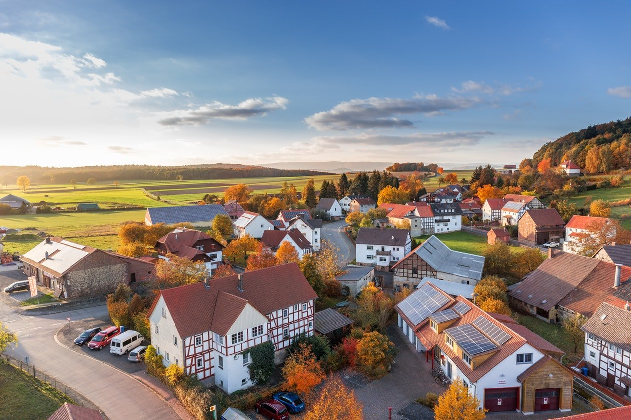 Overview of village - Mark King Properties