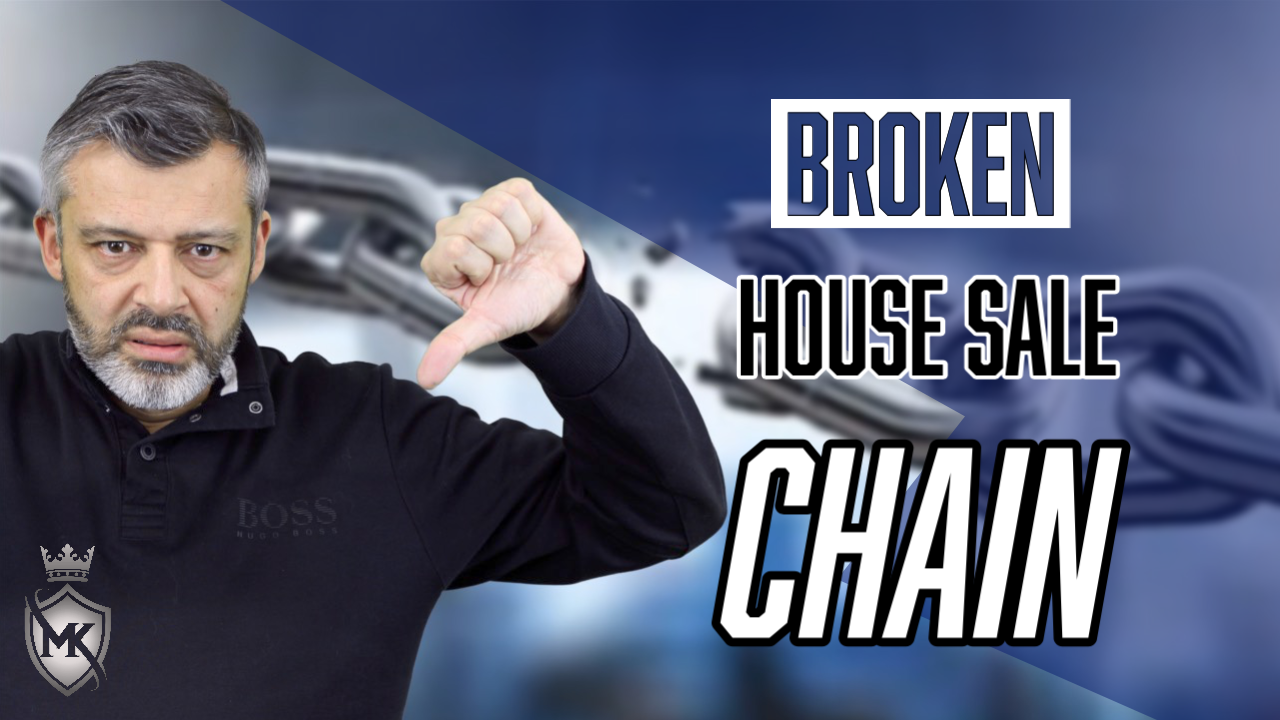 selling a house and broken chains