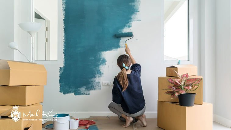DIY painting to try and sell a house fast